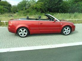 Audi A4 Cabriolet Sport 2 ltr TDI manual