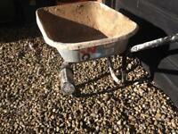 Wheel barrow builder diy gardener