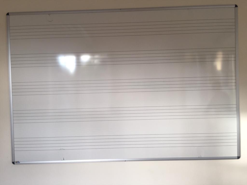 Music whiteboard