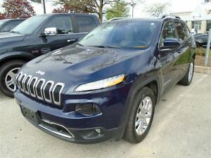 2016 Jeep Cherokee Limited | 4x4 | EX DEMO | Low KMS | LOADED |