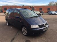 2004 Seat Alhambra Diesel Good Runner with history and mot