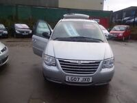 Chrysler GRAND VOYAGER LTD XS Auto,7 seat MPV,full MOT,full leather interior,Sat Nav,tow bar fitted