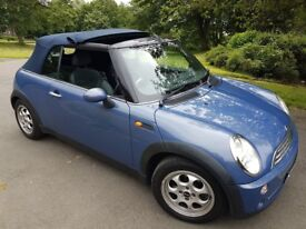 MINI COOPER 1.6 CONVERTIBLE CABRIOLET ~ DELIVERED FREE
