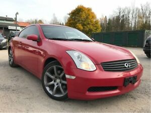 2007 Infiniti G35 Coupe  HID| HTD Seats| Sunroof| Bluetooth