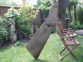 wood and marine ply boat rudder