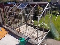Aluminium greenhouse - 8ft X 6ft