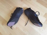 Clarks active black lace up shoes unworn as purchased wrong size.