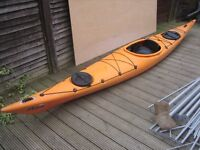 Pyranha Pilot Sea Kayak, little used in very good condition