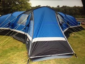 HI Gear Sahara 6 tent and camping equipment