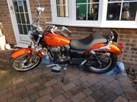 Lexmoto Michigan 125CC as new very low mileage