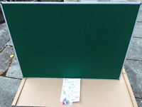 Nobo Noticeboard 900 x 1200 - Green. Brand new in packaging with all fixings.