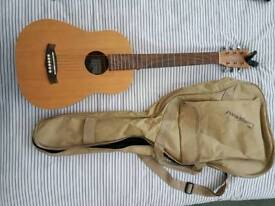 Tanglewood TWRT guitar with tuner
