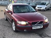 VOLVO S60 2.0 AUTOMATIC WITH FULL MOT AND SERVICE HISTROY
