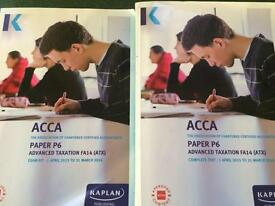 ACCA P6 Advanced Taxation Complete Text and Study Guide