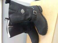 Harley Davidson motorcycle boots size 12
