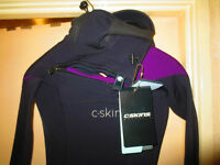 Womens C Skins Wired 6/5mm Hooded Wetsuit Size UK6 (US4)