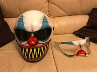 Graf-x xxr evil clown crash helmet