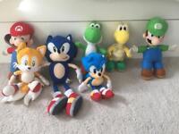 Soft toys. Super Mario