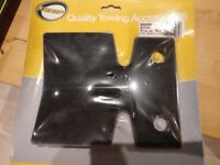 Towing bumper plate. protective bumper plate / tow hitch plate protector. New