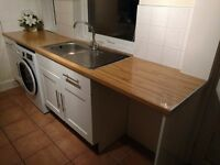 Galley style kitchen for sale - with appliances