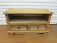 TV stand. Solid wood. Rustic style