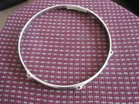 !!RARE FIND!! VINTAGE 60s LUDWIG 12 & 14 Inch 6 & 8 LUG DRUM HOOPS (COLLECTION LE27QT)