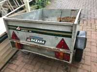 Erde daxara 102 tipping trailer