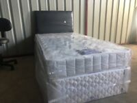 New 3ft single divan bed
