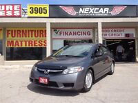 2011 Honda Civic DX-G 5 SPEED A/C CRUISE CONTROL ONLY 103K