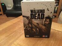 The walking dead series 1-4 DVDs