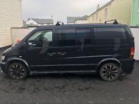 Converted Mercedes Van