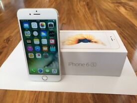 Apple iphone 6s 16GB Gold Excellent Condition unlocked to all networks! boxed