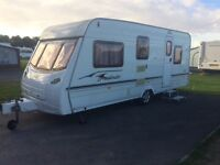 5 BERTH LUNAR CARAVAN, TRULY LOVELY CONDITION WITH MOTOR MOVER.