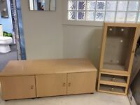 Furniture suitable for television and dvd storage