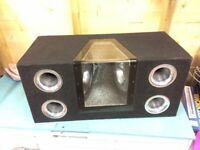 Subwoofer Box Enclosure - Mutant