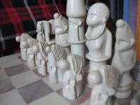 Soapstone Chess Set for sale