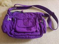 Purple satchel excellent condition hardly used
