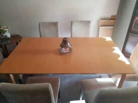Next extending beech wooden table - quick sale