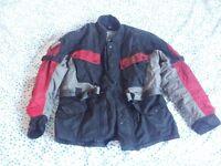 Hein Gericke mens motorbike jacket