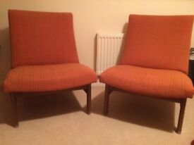 2 easy chairs.