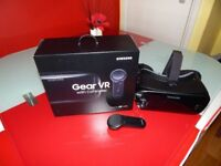 Samsung VR with motion remote and box etc