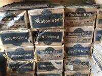Ruabon Red quarry tiles second quality £50 per box