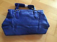 Blaue Lederimitat Handtasche...NEU Ludwigslust - Landkreis - Wittenförden Vorschau