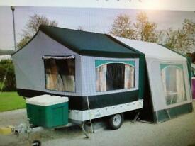 2006 Cabanon Venus 2 berth trailer tent & awning. Caravan camping equipment.