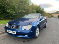 MERCEDES BENZ ,320 CLK, Convertible AUTO , EXCELLENT CAR , SERVICE HISTORY , NEW MOT NOVEMBER 2021