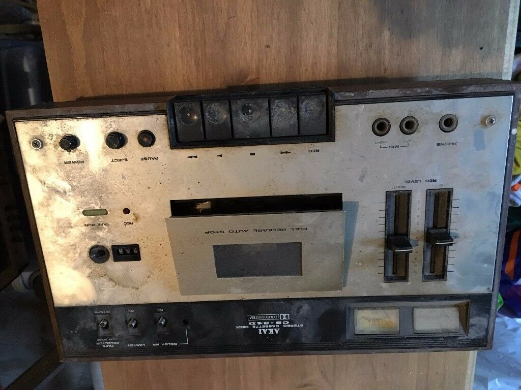 Tandy radio,Akai sterio cassette deck,rank audio sterio,ITT recorder...