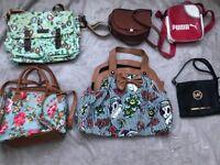 Women's bags job lot