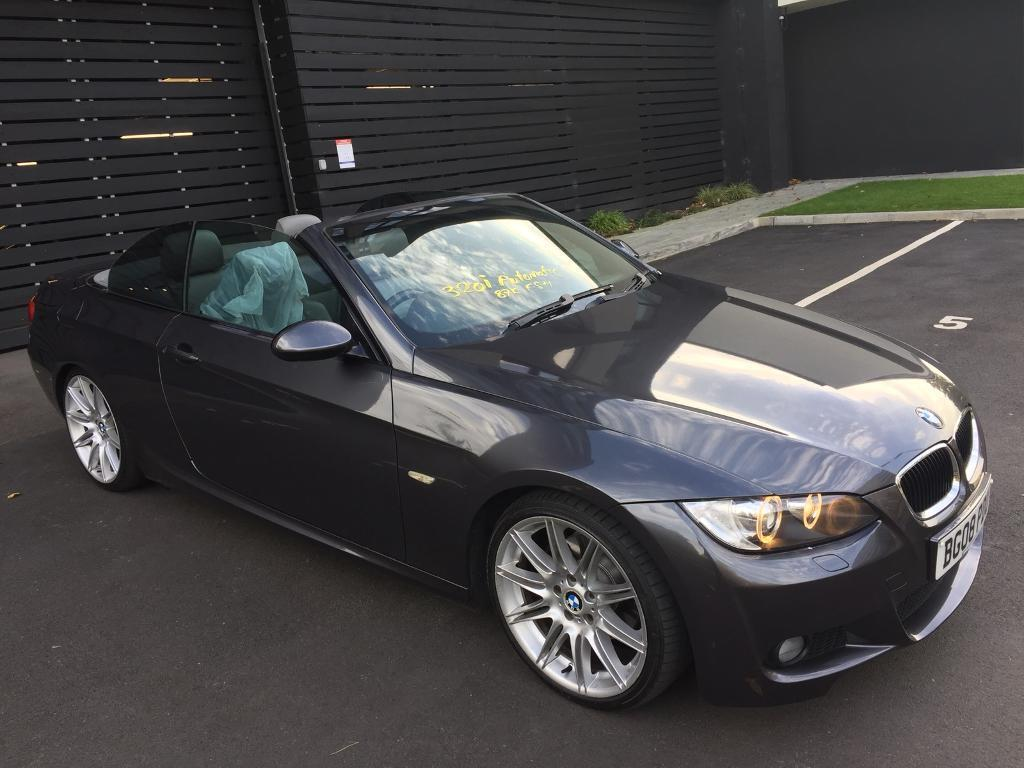 BMW 320i m sport convertible 2008 Lowmiles Automatic
