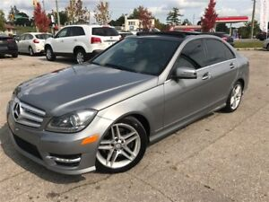 2012 Mercedes-Benz C-Class C300 4MATIC /  AMG SPORTS PKG / PANO
