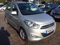 Hyundai i10 1.2 Active 5dr£2,995 p/x welcome FREE WARRANTY, NEW MOT